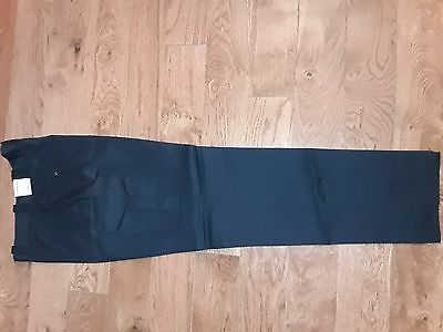 "New 36"" And 38"" Bdu Cargo Syle Emt, Police Pants. Blue. Hemmed Or Unhemmed"