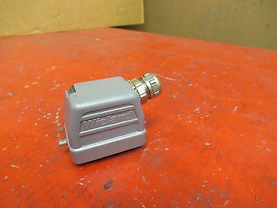 Wieland Connector Plug W/ Housing 70.310.0640 6 Pin 16A A Amps 400V Volts Used