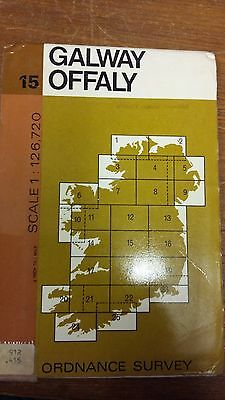 15: Galway, Offaly: Ordnance Survey Map