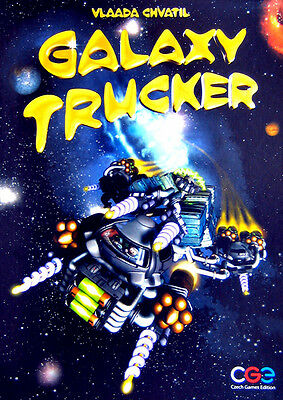 Galaxy Trucker, Boardgame, New by CGE, English Edition
