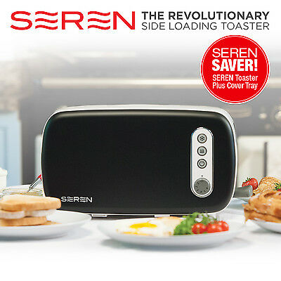 Seren Toaster with Black Cover Tray