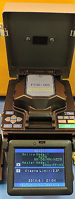 Fujikura FSM-40S Optical Fusion Splicer - 11,779 Arc Count - 1 Year Warranty