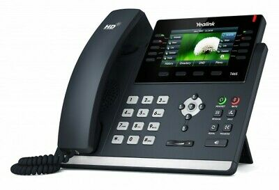 Yealink SIP-T46S Ultra-Elegant Gigabit IP Phone Brand New!