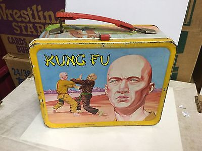Kung Fu very rare metal lunch box 1970s