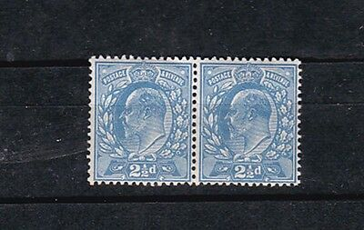 1902/11 Sc 131a pair of two,pale ultra       h1550