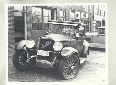 1927 Buick Country Club Coupe Accident Photograph Elyria Ohio  ww8744