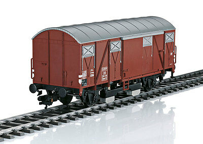 Märklin 58269 1 Gauge DB covered goods wagon with Track Cleaning # NIP