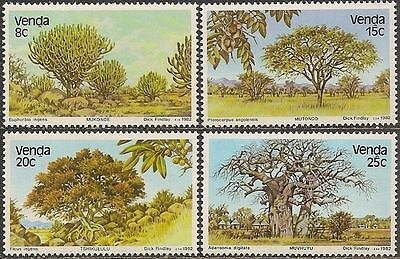 Venda 1982 Indigenous Trees  MNH