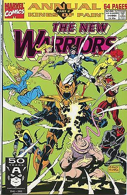 The New Warriors Annual #1 (July 1991, Marvel) NM