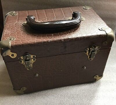 VINTAGE MOVIE BOX With 2 Empty Reel Cans