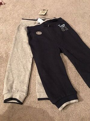 2 Pairs Of Jogging Bottoms Age 12-18 Months