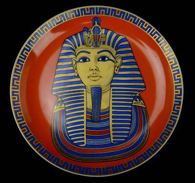 AK Kaiser W Germany Tut Ankh Amun 10″ Collector Plate Limited Edition