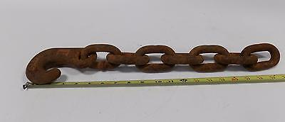 "LEBUS 20"" long WINCHLINE TAILCHAIN  5/8"""