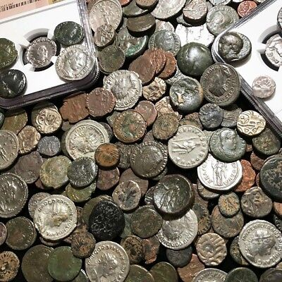 Ancient Coin Estate Lot✯Roman Greek Byzantine✯Bronze Silver Gold✯Premium Quality