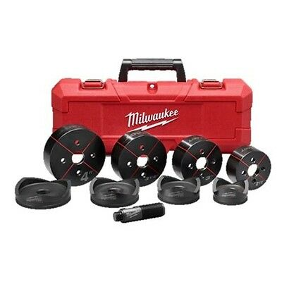 "Milwaukee 49-16-2695 EXACT 2-1/2"" to 4"" Knockout Set"