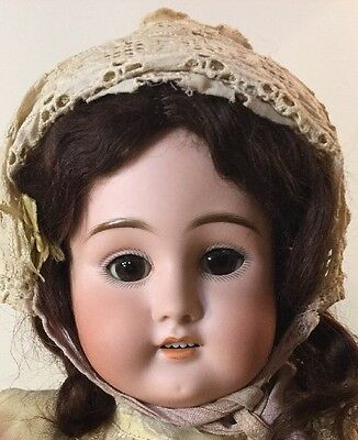 "Antique 22"" Kammer Rhinhardt Doll In Original Condition Marked 9 1/2"
