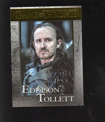 2017 Game of Thrones  season 6 GOLD FOIL PARALLEL card #65 serial 56/150