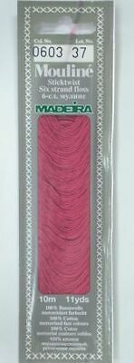 MADEIRA Mouline Stranded Cotton Embroidery Floss 10m Colour 0603