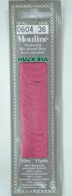 MADEIRA Mouline Stranded Cotton Embroidery Floss 10m Colour 0604