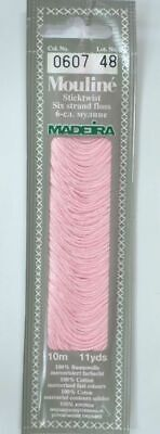 MADEIRA Mouline Stranded Cotton Embroidery Floss 10m Colour 0607