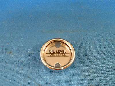 B5631 Or B5093 Oil Indicator  Level New Old Stock Flange  Dia 1.25 Press Fit