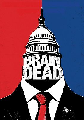 BrainDead: The Complete First season 1 One (DVD, 2016, 4-Disc Set) Brand New!