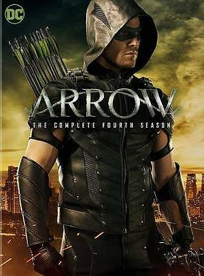Arrow:The Complete Fourth Season 4 (DVD, 2016, 5-Disc Set) Brand New and Sealed!