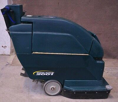 Nobles 24V DC Speed Scrub 2001 SS2001 Walk Behind Floor Scrubber Sweeper Cleaner