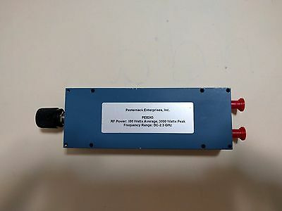 Pasternack PE8243 Adjustable Phase Shifter, DC to 2.3 GHz
