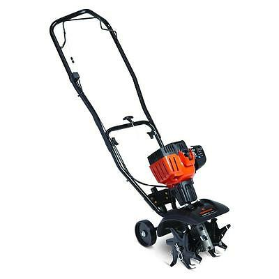 9 in. 25cc 2-Cycle Heavy-Duty Gearbox Gas Adjustable Tine Lightweight Cultivator