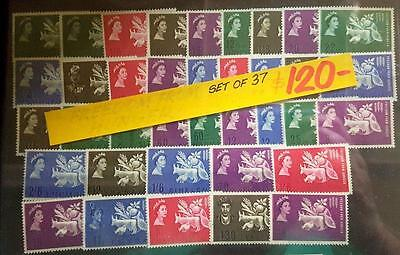 British Commonwealth Freedom Of Hunger Set Of 37 Mint Stamps