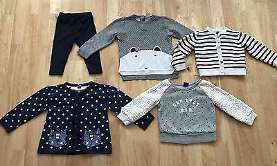 bundle baby girls clothes age 12-18 months