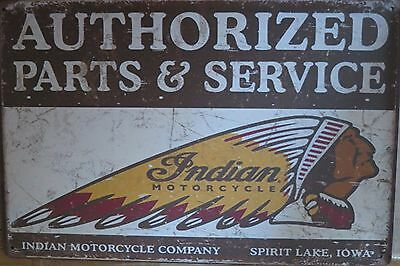 indian motorcycle metal sign MAN CAVE brand new or for the  bar .;