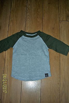 Baby Boys Next Long Sleeve Top Age 3-6 Months