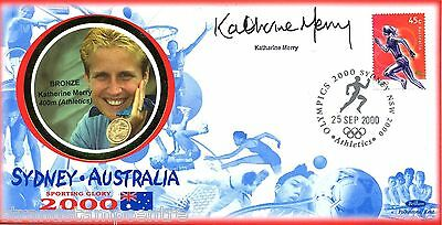 "2000 Sydney Olympics - Benham ""Special"" - Signed by KATHERINE MERRY"