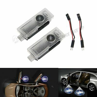 2x CREE LED Door For BMW Projector Courtesy Puddle Shadow Laser Light Lamp Logo