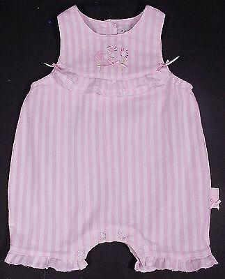 Coco baby girl romper suit COTTON 3-6 months PINK