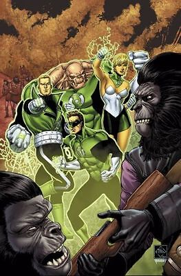 Dc Boom Studios Green Lantern Planet Of The Apes #2