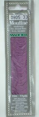 MADEIRA Mouline Stranded Cotton Embroidery Floss 10m Colour 0805