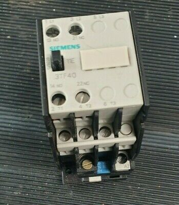 Siemens 3Tf4011-0A Contactor