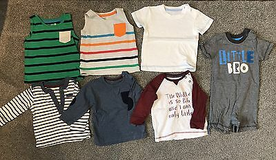 Baby Boys Tops Bundle 6-9 Months