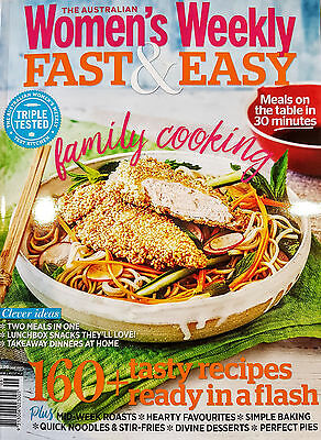 The Australian Women's Weekly - Fast & Easy Cookbook 160 Recipes Womens AWW NEW