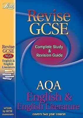 Revise GCSE English AQA Study Guide (GCSE Revision) (GCSE Study Guide), New, Ste