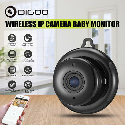 Digoo DG-M1Q 960P Mini Wireless WIFI Smart Security IP Camera Home Night Vision