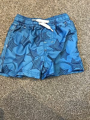 Baby Boys NEXT Swimming Shorts 6-9 Months