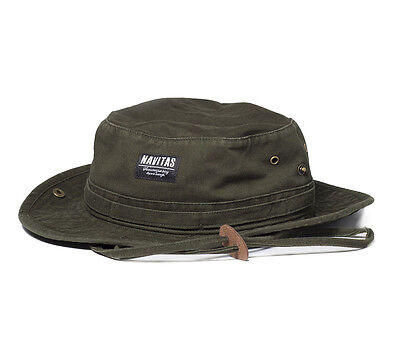 Navitas Apparel NEW Dundee Boonie Fishing Hat Green - NWCA4315
