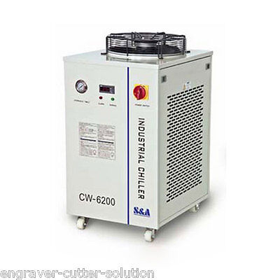 S&A 220V 60Hz CW-6200BN Water Chiller for CO2 CO2 Laser / CNC Spindle