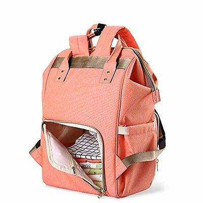 Diaper Nappy Bag for Baby Care Waterproof Multi Function Backpack, Handbag NEW!