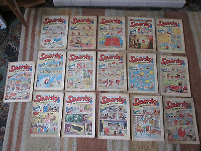 Bundle, Lot of 16 SPARKY Comics from 1971