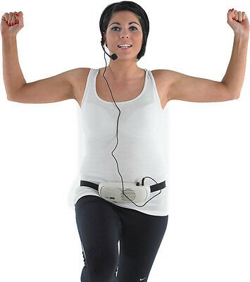 Portable Wired Free Worn Voice Booster With Head Mounted Mic-Head Hands Headset